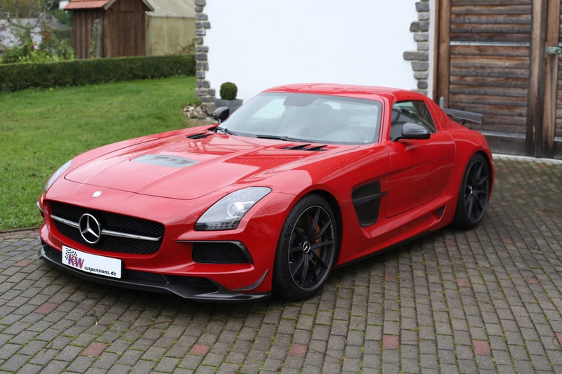 low KW HLS4 SLS AMG BlackSeries