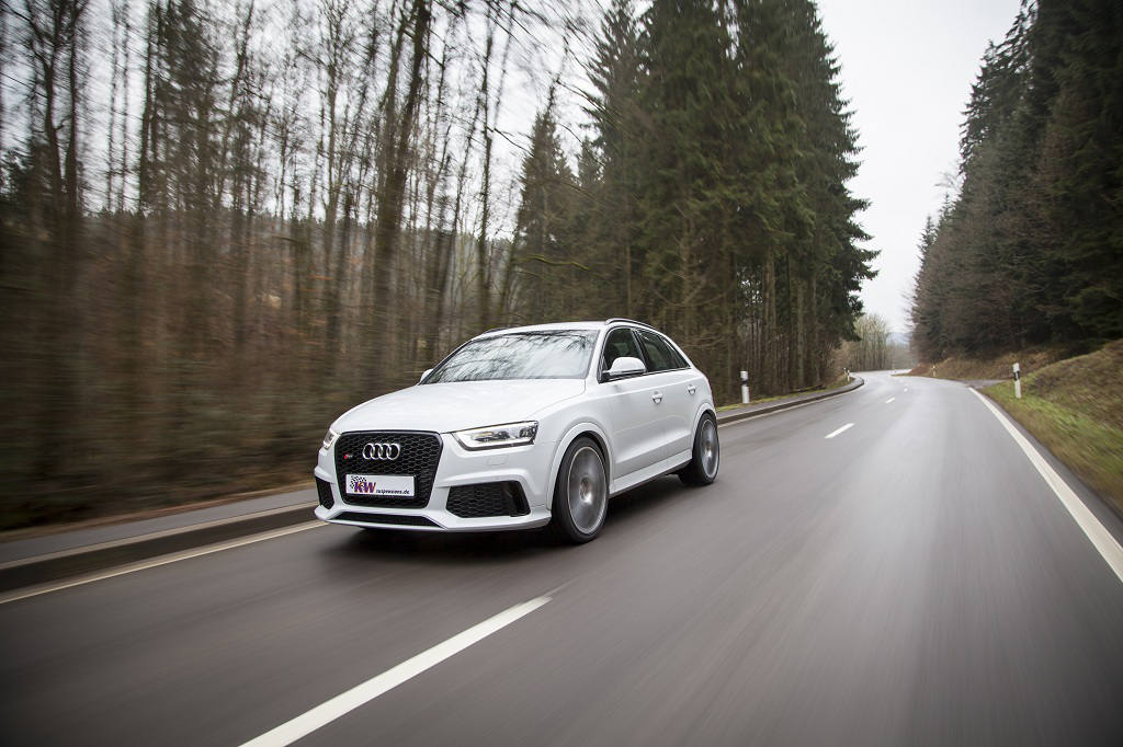 low KW Audi RSQ3 Action