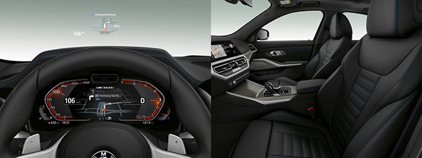 Interieur BMW M340i xDrive