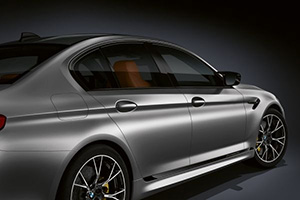 BMW M5 Competion intr
