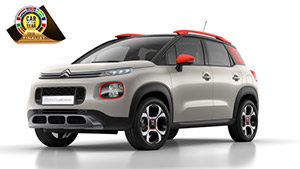 C3 Aircross COTY intr
