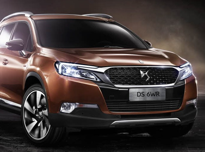 DS 6 WR Auto China Pekin 2014 intro