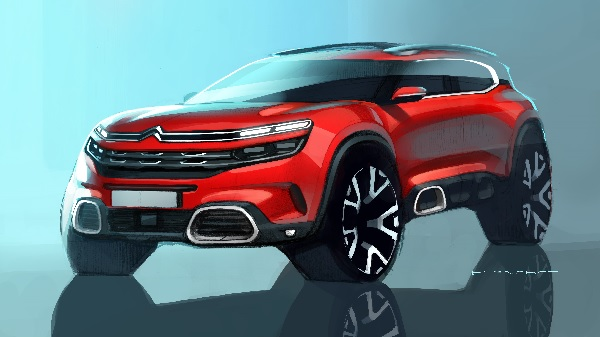 Salon Shangai Suv Citroen
