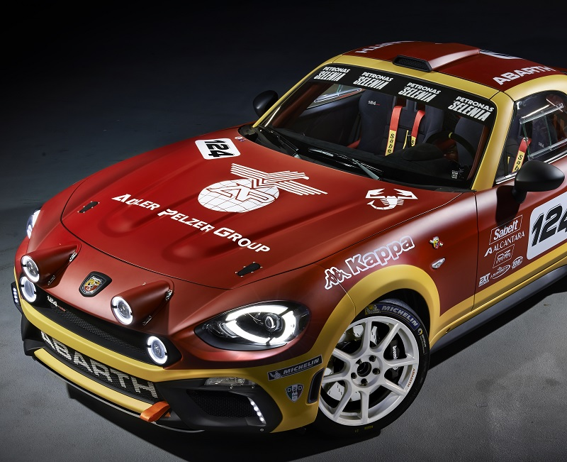 Abarth 124 Rally presentation