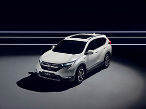 Prototype Honda CR V Hybrid Francfort intro 1