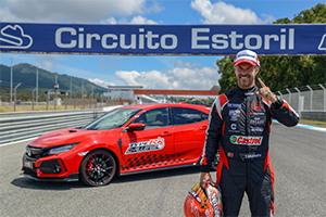 Honda Civic Type R Estoril 2018 intr