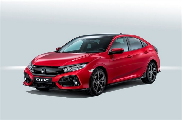 Nouvelle Honda Civic Hatchback 2017 1