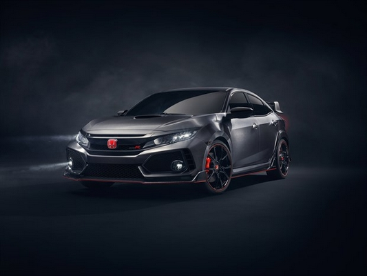 Prototype Honda Civic Type R 2017 1