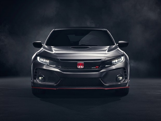 Prototype Honda Civic Type R 2017 4