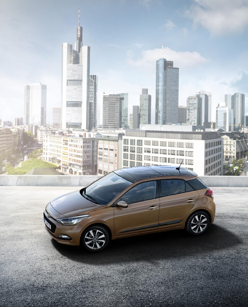 New Generation i20 Roof