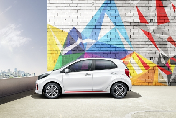 3rd generation Kia Picanto GT Line side