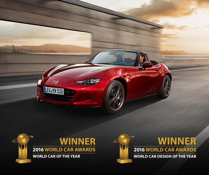 MAZDA Mx 5 World Cars of The year 2016 1