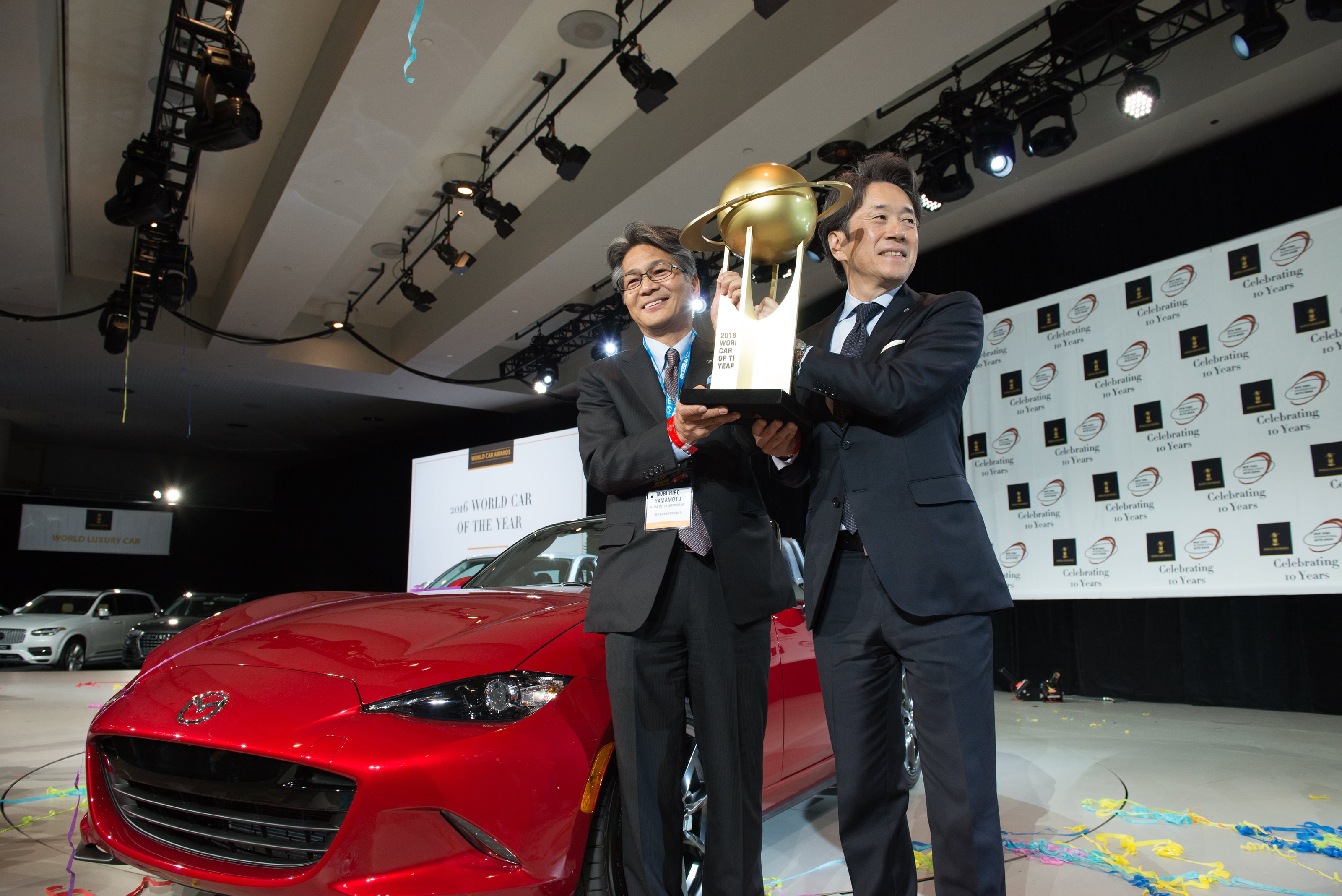 MAZDA Mx 5 World Cars of The year 2016 2