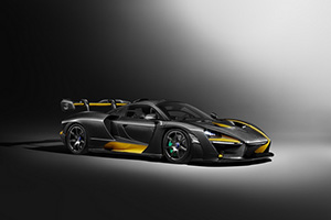 Mc Laren Senna Carbon Theme intr