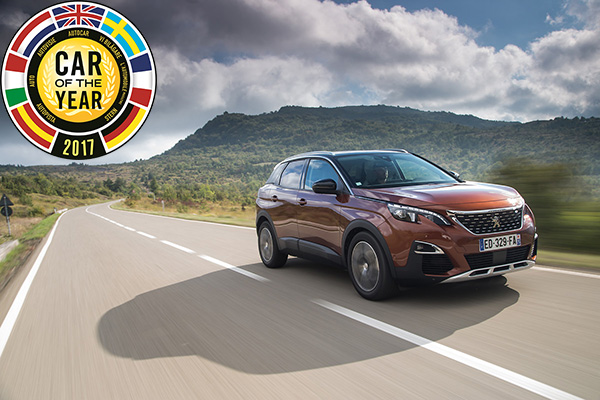 Peugeot 3008 Car of the year 2017 1