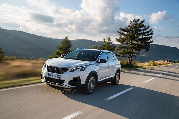 Peugeot 3008 Car of the year 2017 2