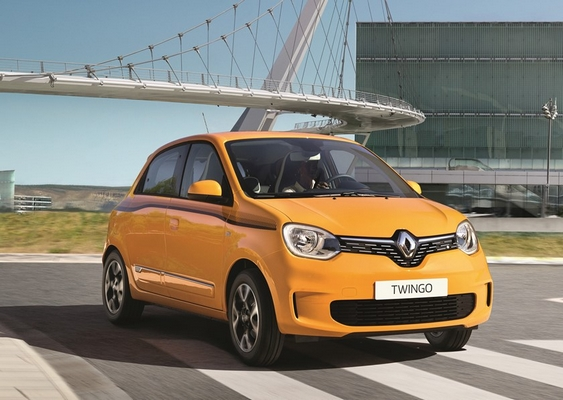 Nouvelle Renault Twingo restylee 7