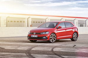 Nouvelle polo GTI Francfort 2017intr 3
