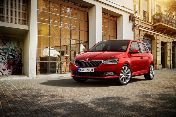 Fabia FL FRONT RED