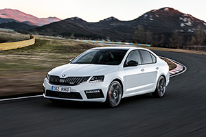 Skoda Octavia RS Berline 2017 presentationl