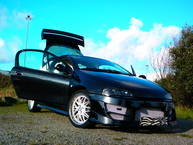 Jeremy et son Opel Tigra  photos  N. Lacassagne 4