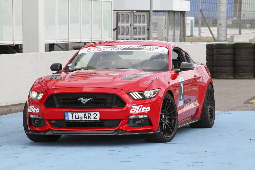 low FordMustang Clubsport Standaufnahme02
