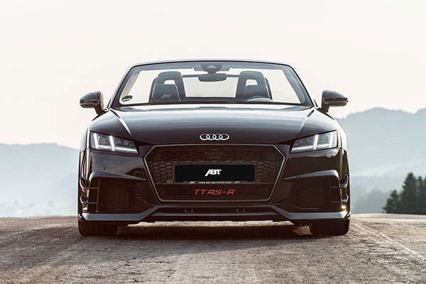 02 ABT TT RS R Roadster front straight