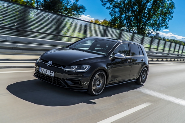 ABT Golf VII R driving diagonal front