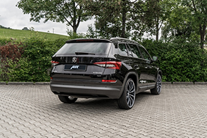 ABT Skoda Kodiaq GR mattblack backintr