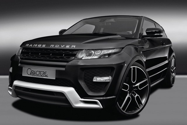 Range Rover Evoque by Caractere 1