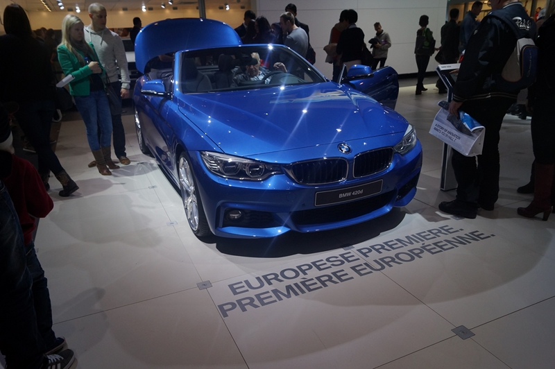 Salon European Motor Show  Bruxelles 2014  Photo Yves Lefevere Nouvelle BMW